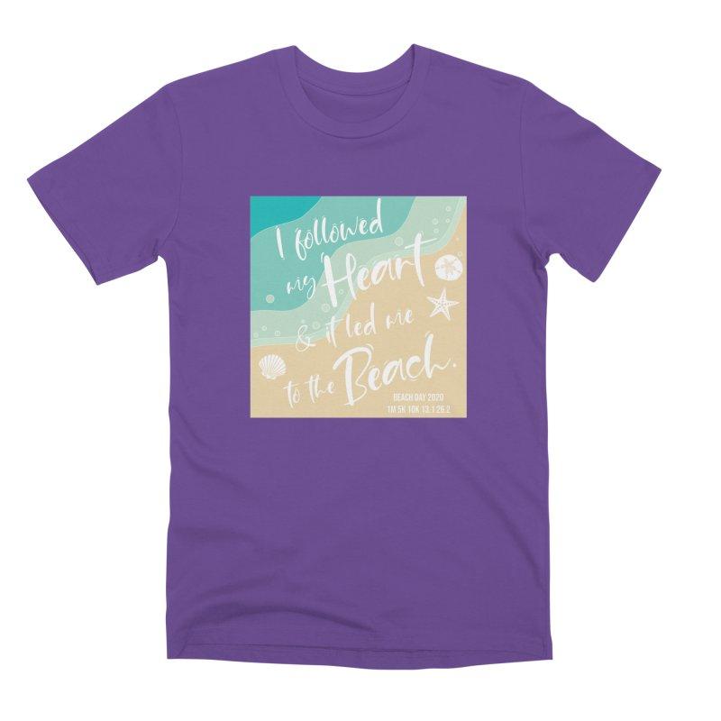 Beach Day Men's Premium T-Shirt by Moon Joggers's Artist Shop