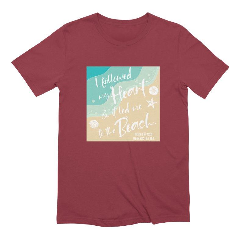 Beach Day Men's Extra Soft T-Shirt by Moon Joggers's Artist Shop