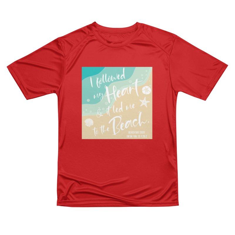Beach Day Men's Performance T-Shirt by Moon Joggers's Artist Shop