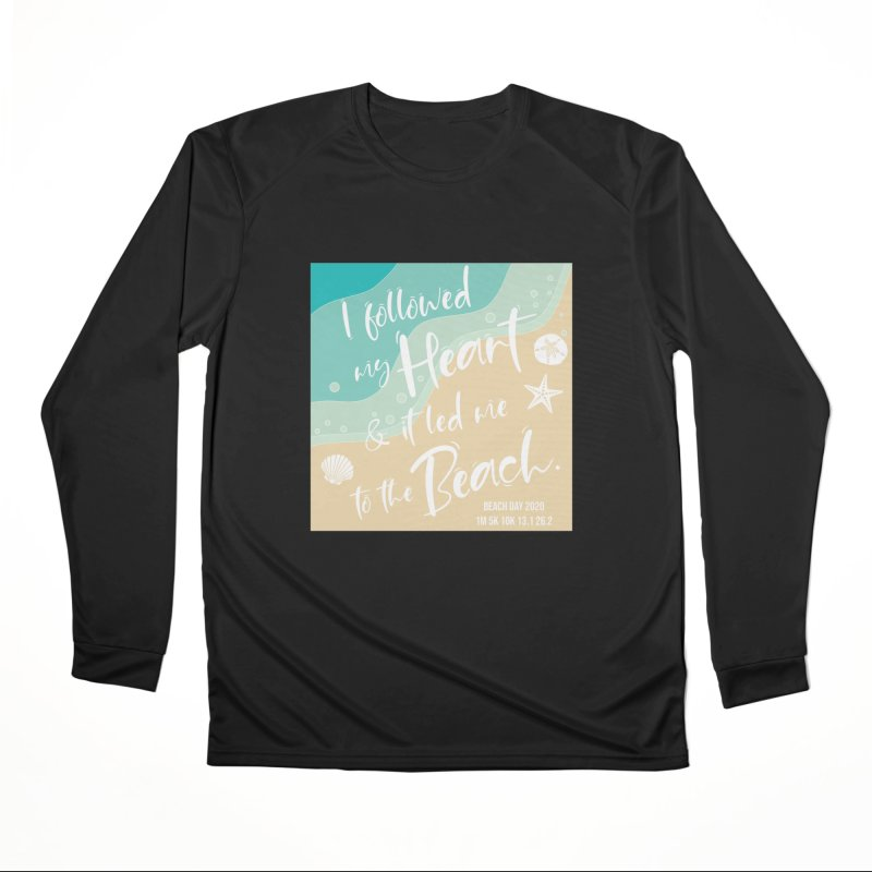 Beach Day Men's Performance Longsleeve T-Shirt by Moon Joggers's Artist Shop