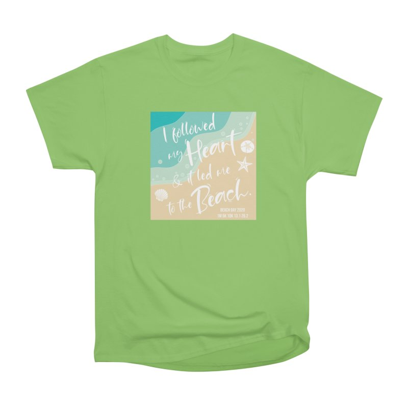 Beach Day Men's Heavyweight T-Shirt by Moon Joggers's Artist Shop