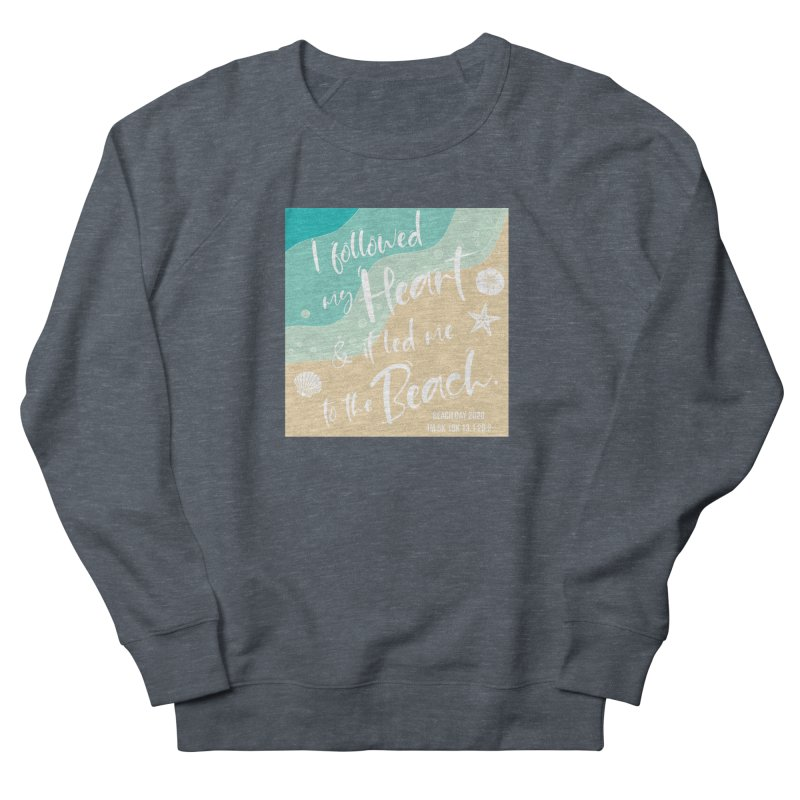 Beach Day Women's French Terry Sweatshirt by Moon Joggers's Artist Shop