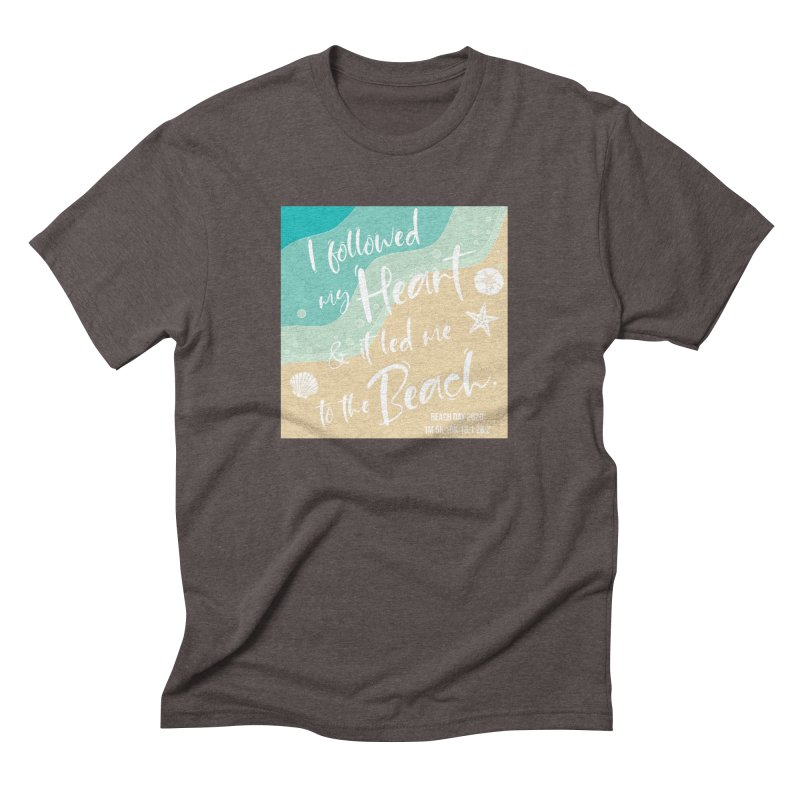Beach Day Men's Triblend T-Shirt by Moon Joggers's Artist Shop