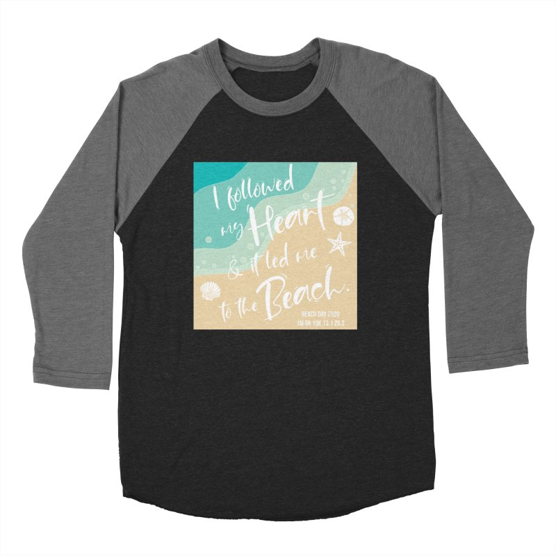 Beach Day Women's Baseball Triblend Longsleeve T-Shirt by Moon Joggers's Artist Shop