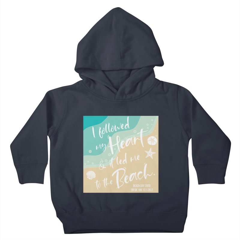Beach Day Kids Toddler Pullover Hoody by Moon Joggers's Artist Shop