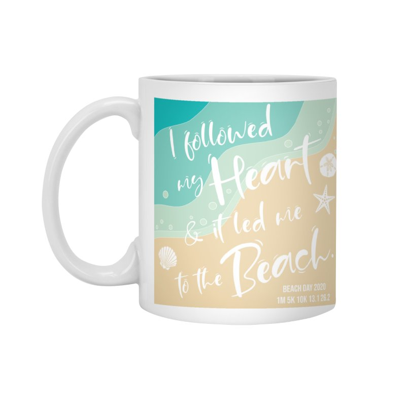 Beach Day Accessories Standard Mug by Moon Joggers's Artist Shop