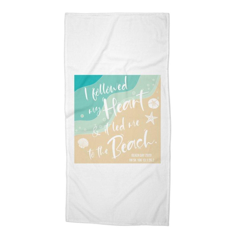 Beach Day Accessories Beach Towel by Moon Joggers's Artist Shop