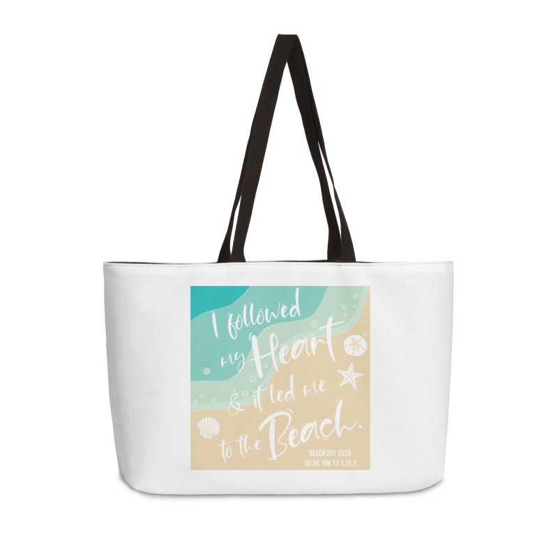 Beach Day Accessories Weekender Bag Bag by Moon Joggers's Artist Shop