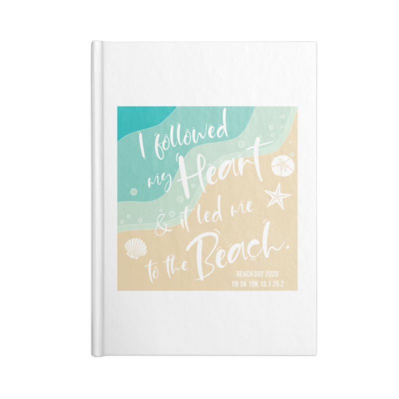 Beach Day Accessories Blank Journal Notebook by Moon Joggers's Artist Shop