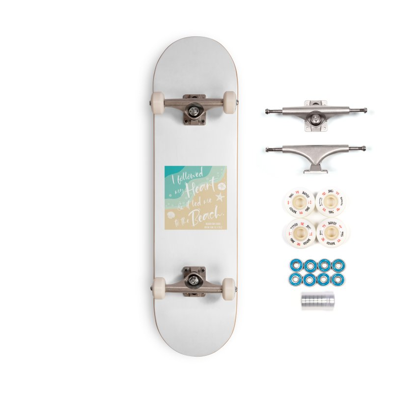Beach Day Accessories Complete - Premium Skateboard by Moon Joggers's Artist Shop
