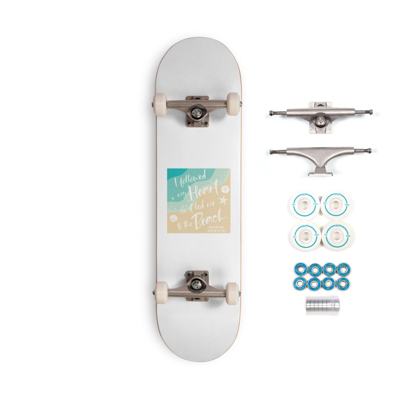 Beach Day Accessories Complete - Basic Skateboard by Moon Joggers's Artist Shop