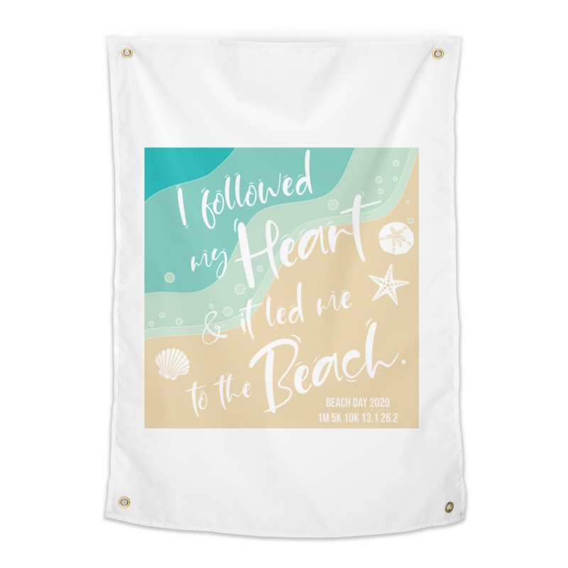 Beach Day Home Tapestry by Moon Joggers's Artist Shop