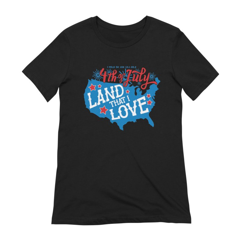 4th of July Women's Extra Soft T-Shirt by Moon Joggers's Artist Shop