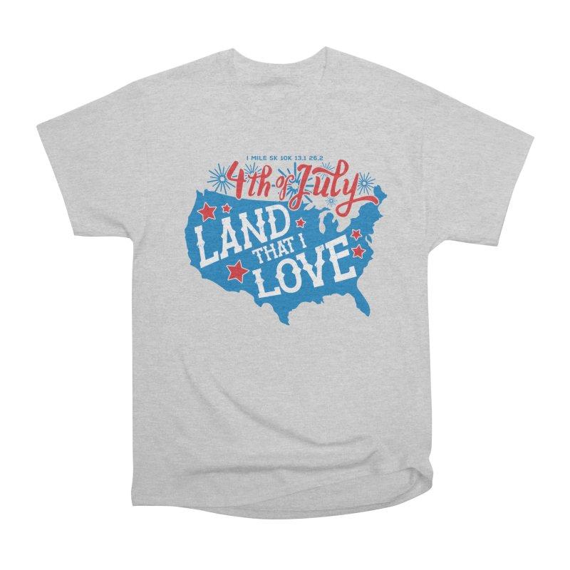 4th of July Men's Heavyweight T-Shirt by Moon Joggers's Artist Shop