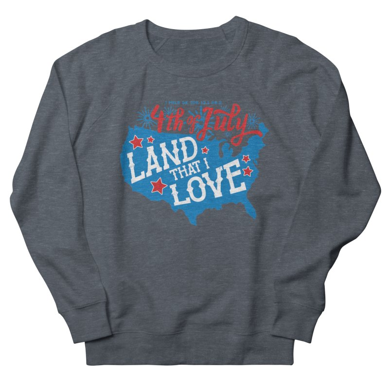 4th of July Men's French Terry Sweatshirt by Moon Joggers's Artist Shop