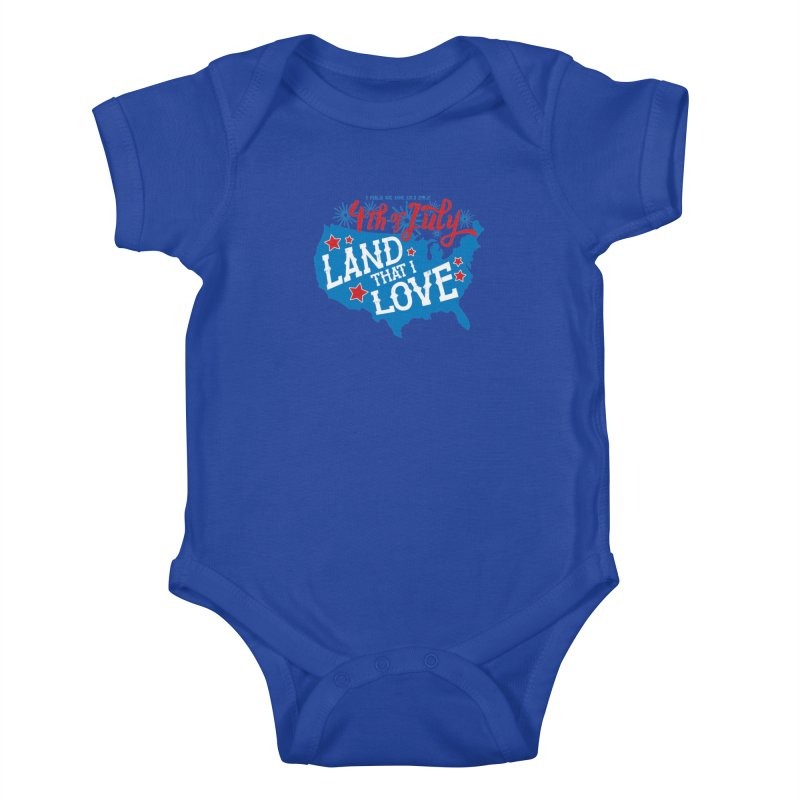 4th of July Kids Baby Bodysuit by Moon Joggers's Artist Shop