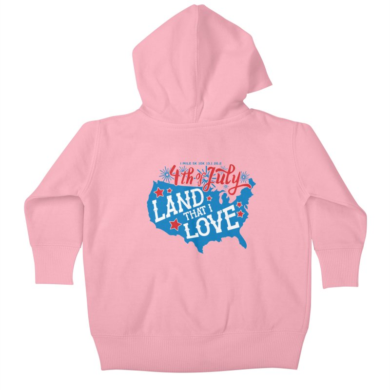 4th of July Kids Baby Zip-Up Hoody by Moon Joggers's Artist Shop