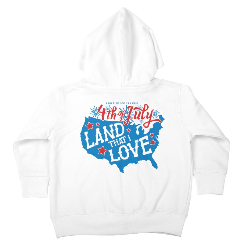 4th of July Kids Toddler Zip-Up Hoody by Moon Joggers's Artist Shop