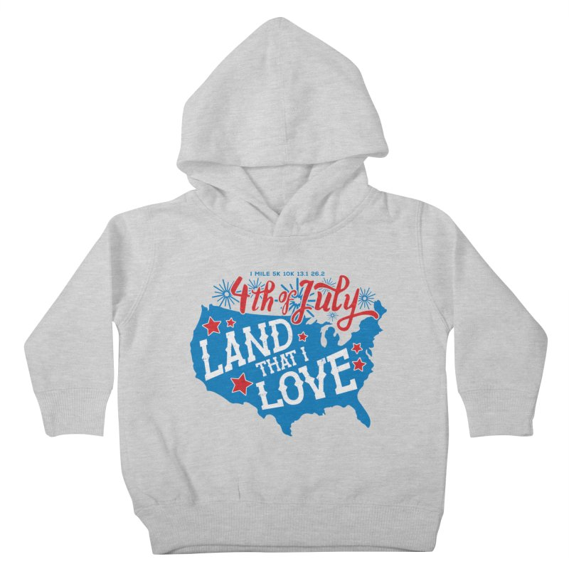 4th of July Kids Toddler Pullover Hoody by Moon Joggers's Artist Shop