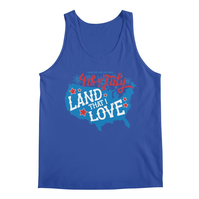 4th of July Men's Regular Tank by Moon Joggers's Artist Shop