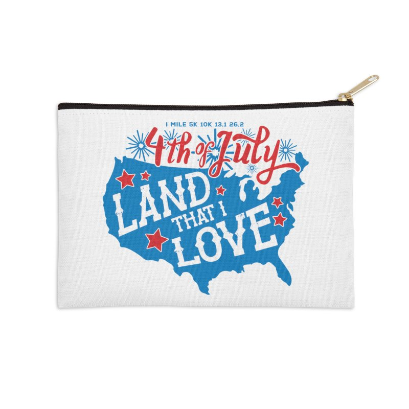 4th of July Accessories Zip Pouch by Moon Joggers's Artist Shop