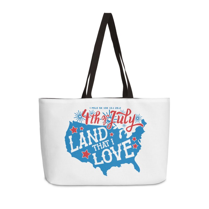 4th of July Accessories Weekender Bag Bag by Moon Joggers's Artist Shop
