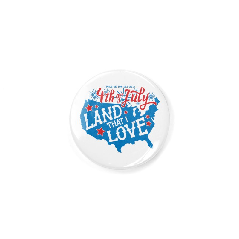 4th of July Accessories Button by Moon Joggers's Artist Shop