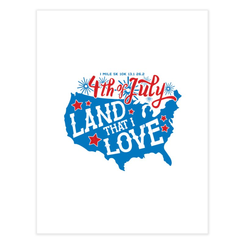 4th of July Home Fine Art Print by Moon Joggers's Artist Shop