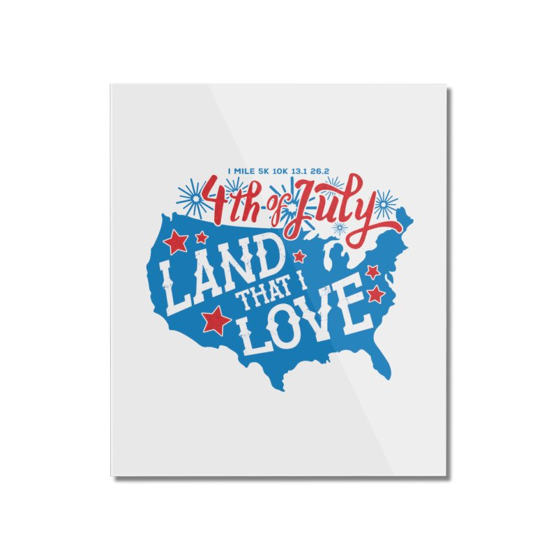 4th of July Home Mounted Acrylic Print by Moon Joggers's Artist Shop