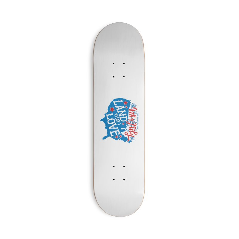 4th of July Accessories Deck Only Skateboard by Moon Joggers's Artist Shop