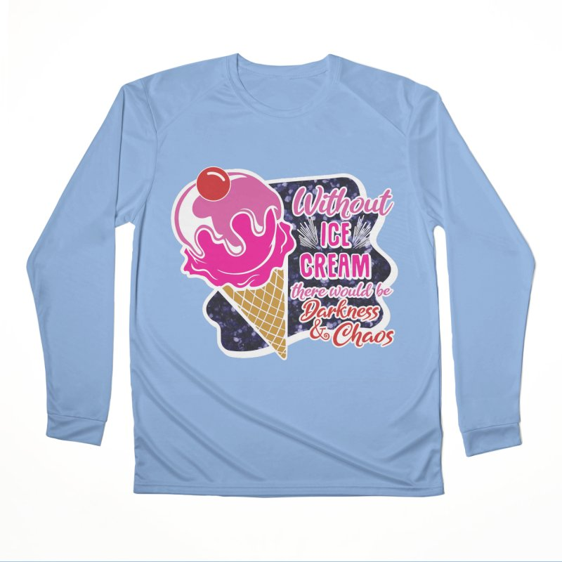 Ice Cream Day Women's Performance Unisex Longsleeve T-Shirt by Moon Joggers's Artist Shop
