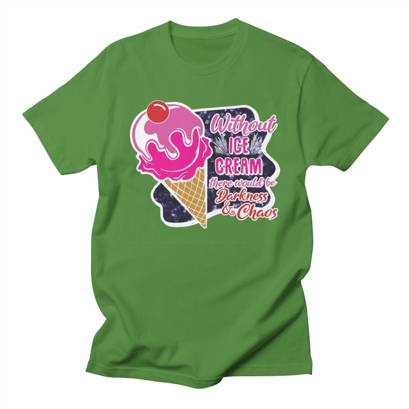 Ice Cream Day Women's Regular Unisex T-Shirt by Moon Joggers's Artist Shop