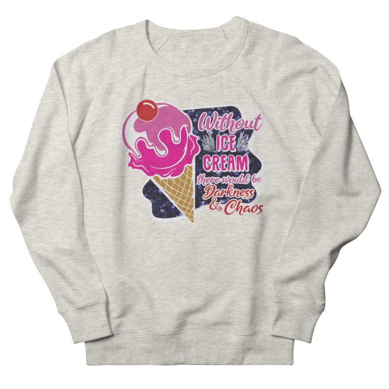 Ice Cream Day Women's French Terry Sweatshirt by Moon Joggers's Artist Shop