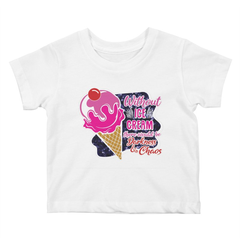 Ice Cream Day Kids Baby T-Shirt by Moon Joggers's Artist Shop