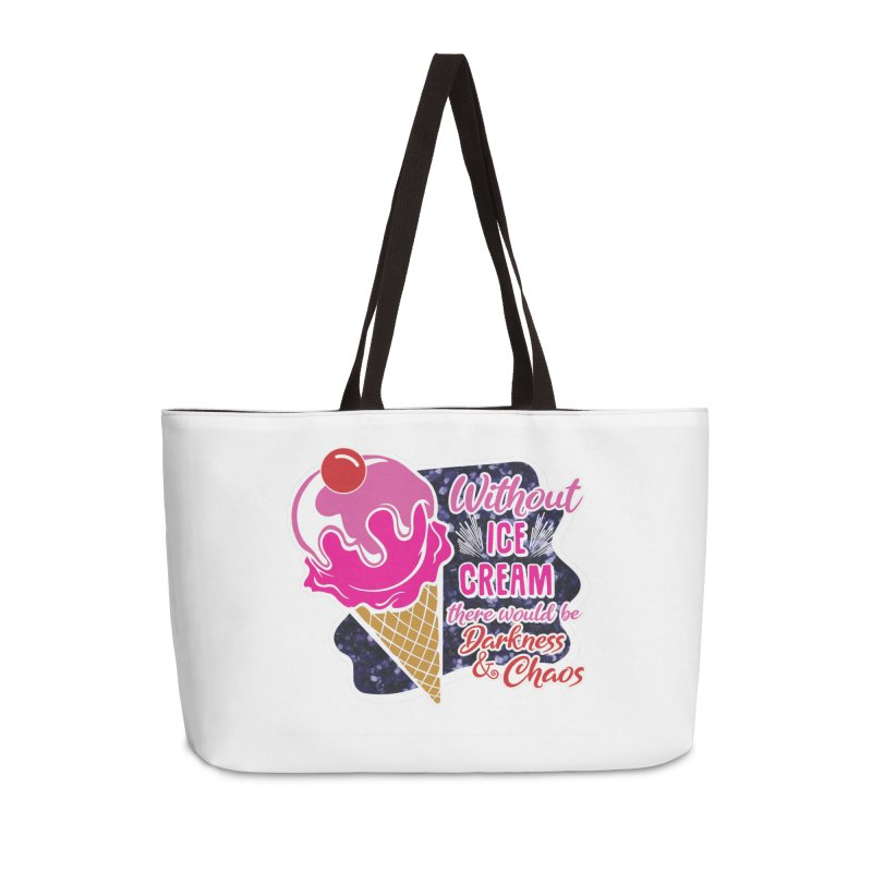 Ice Cream Day Accessories Weekender Bag Bag by Moon Joggers's Artist Shop