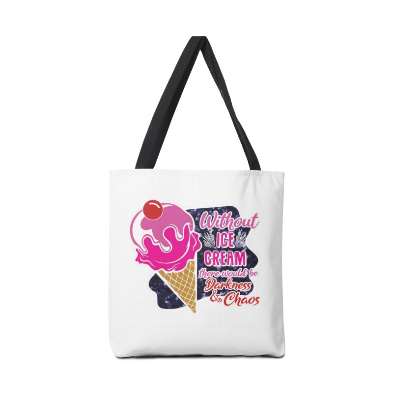 Ice Cream Day Accessories Tote Bag Bag by Moon Joggers's Artist Shop