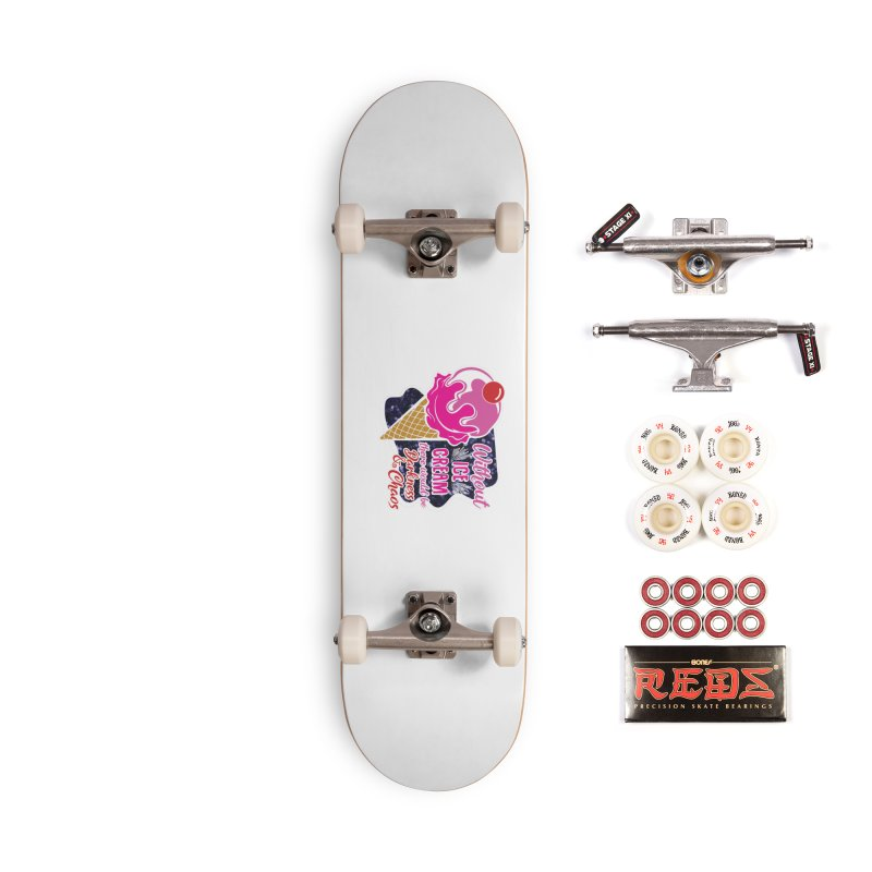 Ice Cream Day Accessories Complete - Pro Skateboard by Moon Joggers's Artist Shop