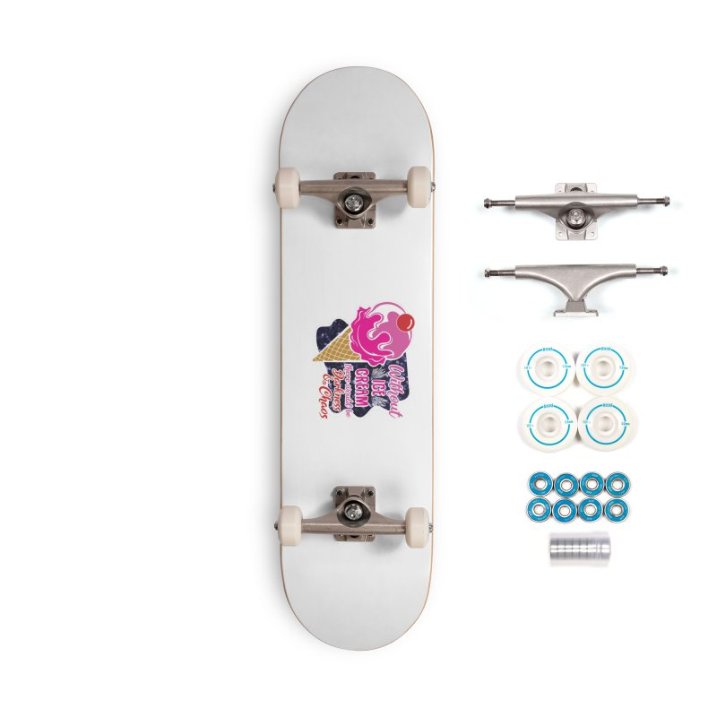 Ice Cream Day Accessories Complete - Basic Skateboard by Moon Joggers's Artist Shop