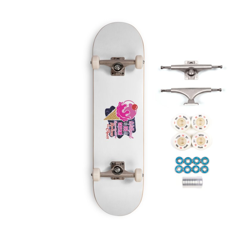 Ice Cream Day Accessories Complete - Premium Skateboard by Moon Joggers's Artist Shop
