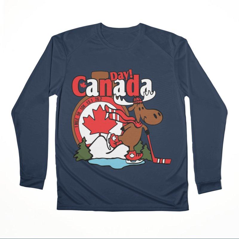 Canada Day Men's Performance Longsleeve T-Shirt by Moon Joggers's Artist Shop
