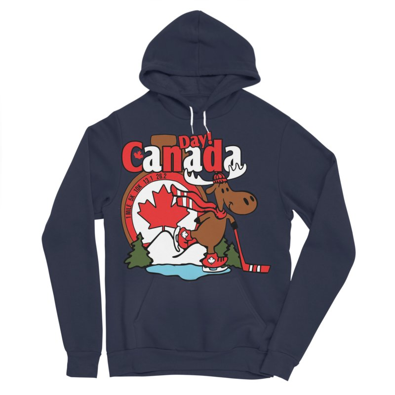 Canada Day Men's Sponge Fleece Pullover Hoody by Moon Joggers's Artist Shop