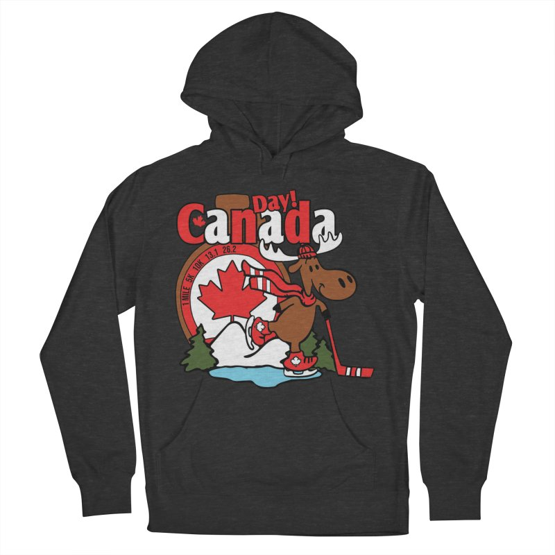 Canada Day Men's French Terry Pullover Hoody by Moon Joggers's Artist Shop