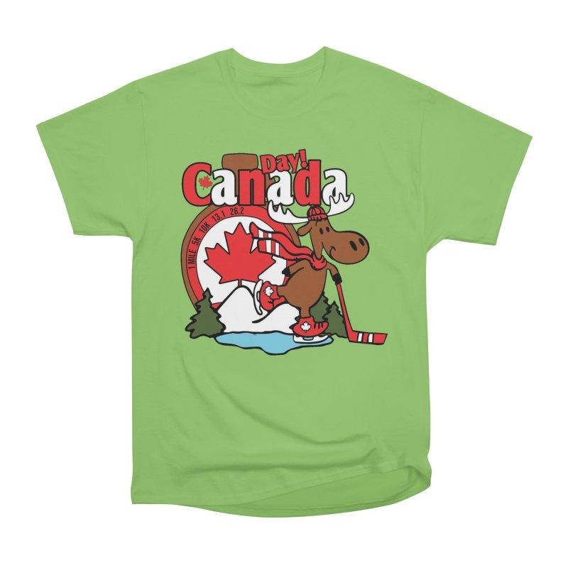 Canada Day Men's Heavyweight T-Shirt by Moon Joggers's Artist Shop