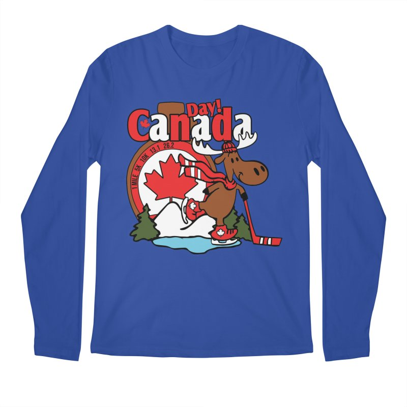 Canada Day Men's Regular Longsleeve T-Shirt by Moon Joggers's Artist Shop