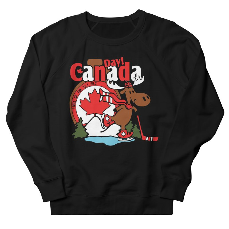 Canada Day Women's French Terry Sweatshirt by Moon Joggers's Artist Shop