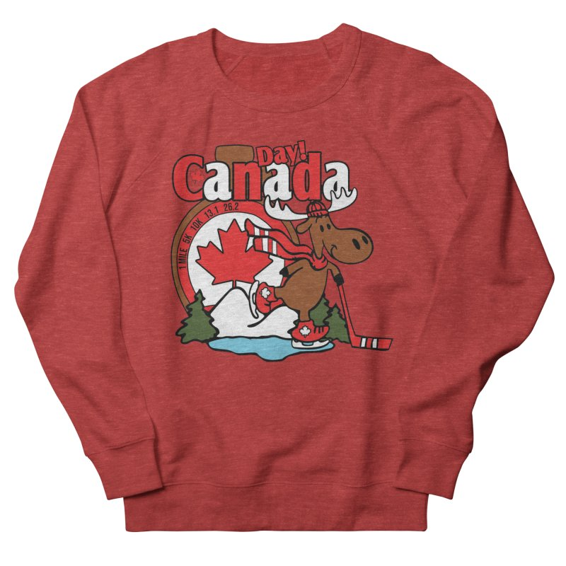 Canada Day Men's French Terry Sweatshirt by Moon Joggers's Artist Shop
