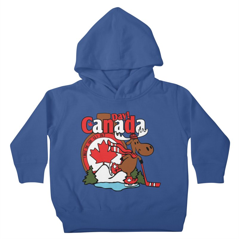 Canada Day Kids Toddler Pullover Hoody by Moon Joggers's Artist Shop