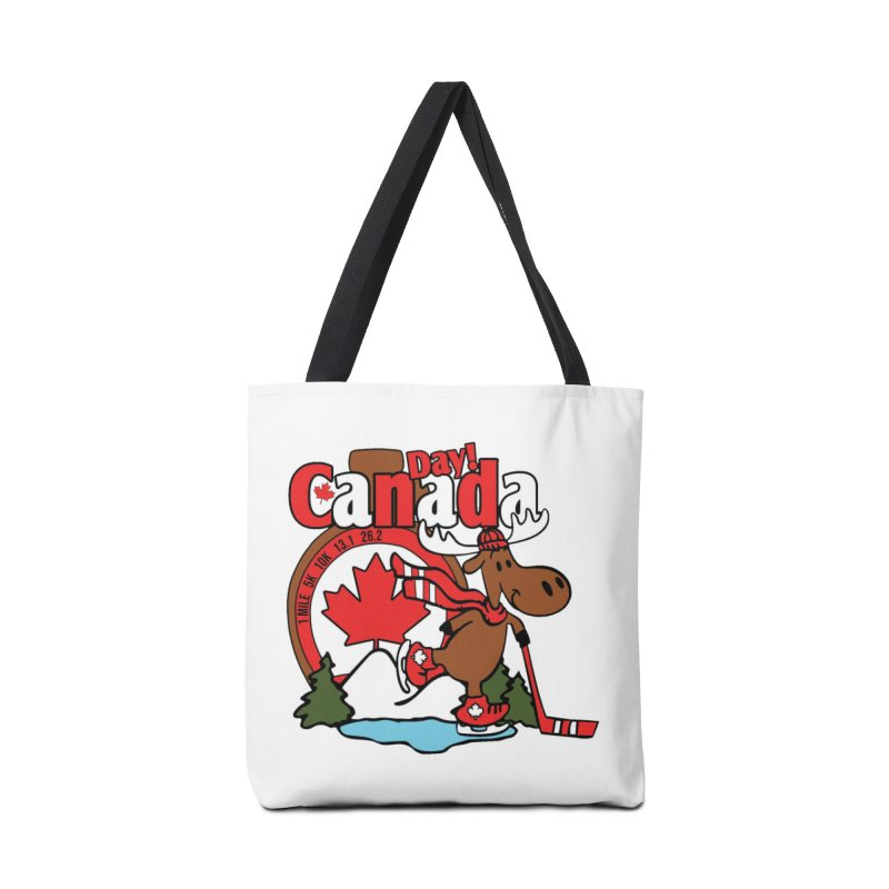 Canada Day Accessories Tote Bag Bag by Moon Joggers's Artist Shop