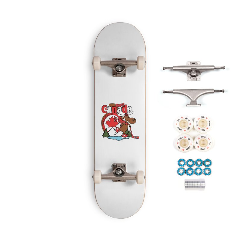 Canada Day Accessories Complete - Premium Skateboard by Moon Joggers's Artist Shop