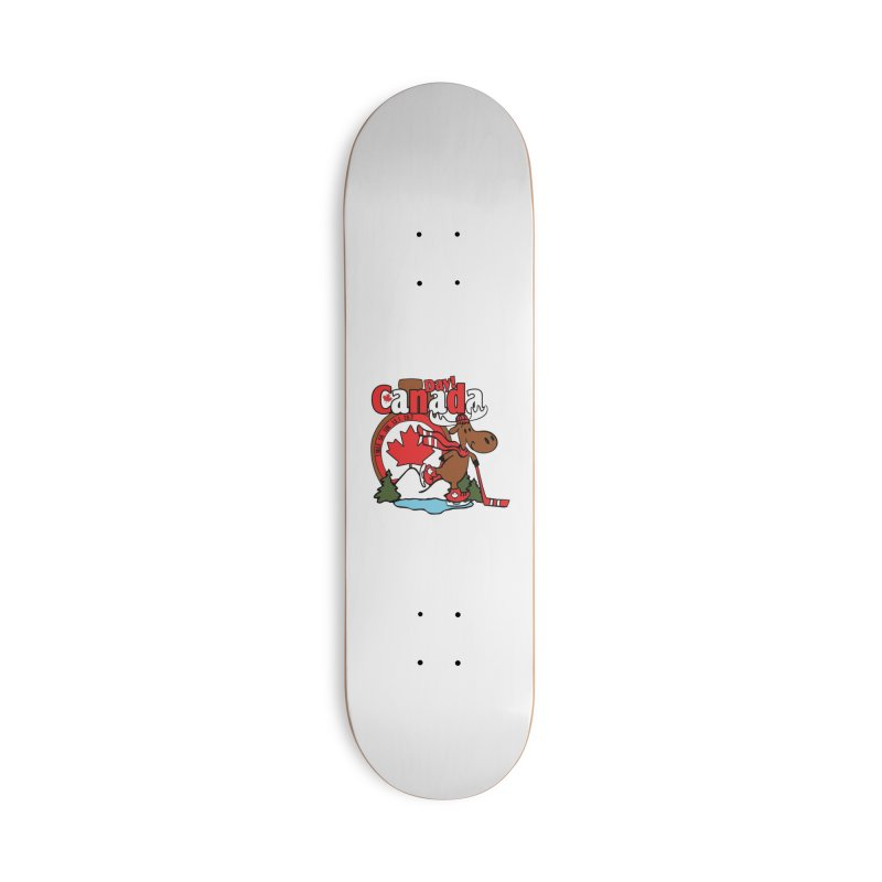 Canada Day Accessories Deck Only Skateboard by Moon Joggers's Artist Shop